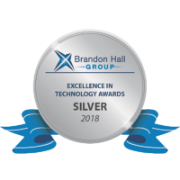 Brandon Hall 2018 Silver Award