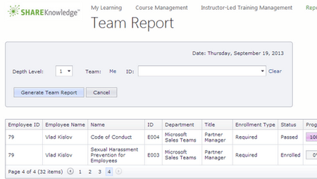 SharePoint-Based Reporting Site - ShareKnowledge