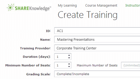 Instructor-Led Training (ILT) - ShareKnowledge
