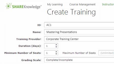Instructor-Led Training (ILT) - ShareKnowledge