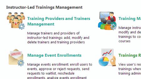 Manage online and offline ILT - ShareKnowledge