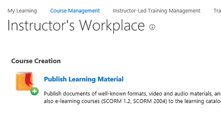 Instructor View - ShareKnowledge