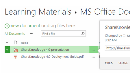 Fully Integrated SharePoint LMS - ShareKnowledge