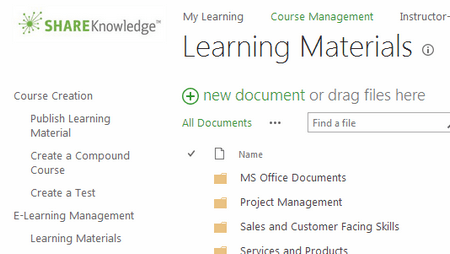 Leverage Ongoing Education in the SharePoint LMS, ShareKnowledge