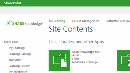 SharePoint LMS - ShareKnowlede