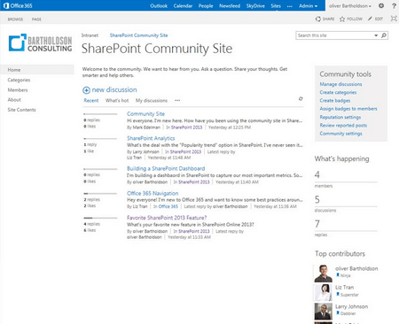 Communities and Microblogs - ShareKnowledge