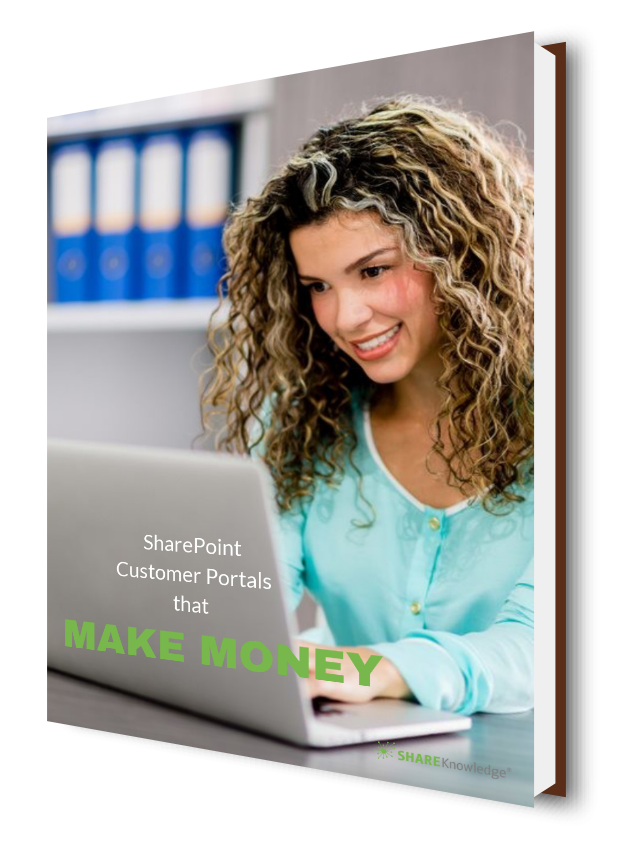Customer portals that make money