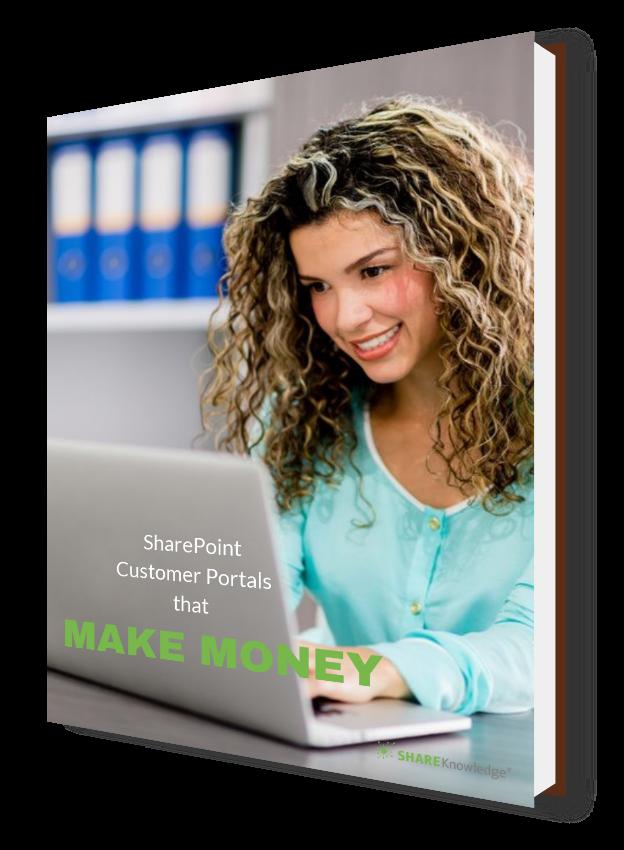 Customer portals that make money