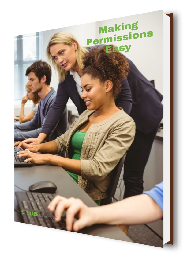 Making Permissions Easy | ShareKnowledge LMS
