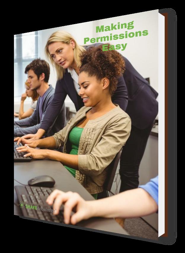 Making Permissions Easy   ShareKnowledge LMS