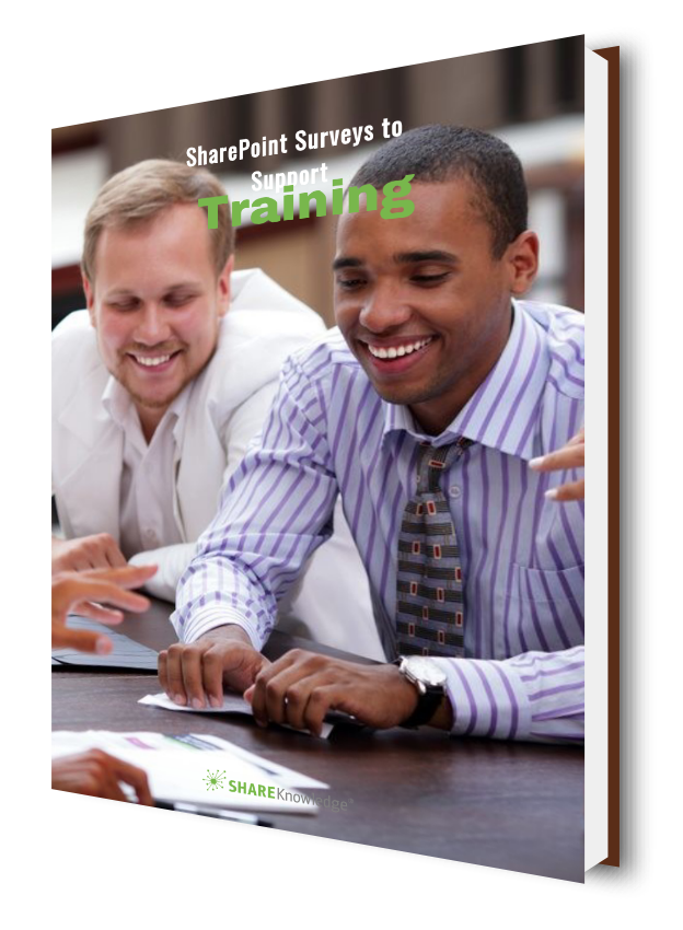 SharePoint Surveys to Support Training | ShareKnowledge
