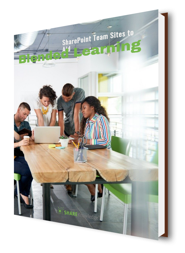 SharePoint Team Sites to Aid Blended Learning